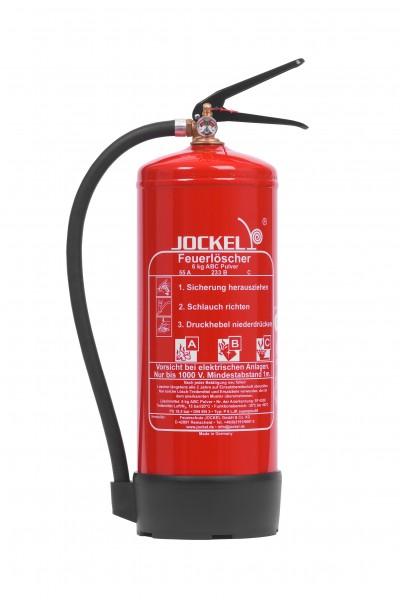 Jockel 6 kg High Performance Dauerdruck-ABC-Pulver Feuerlöscher P6LJKM 55