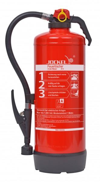 Jockel 9 Liter frostsicherer Auflade-Wasserfeuerlöscher W9JXF27