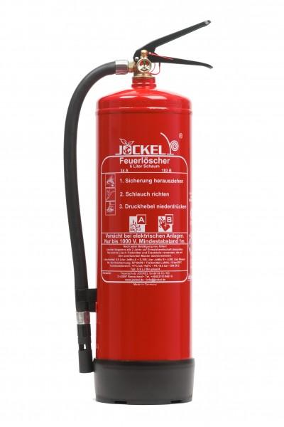 Jockel 6 Liter Dauerdruck Schaumlöscher S6LJM 34 BIO