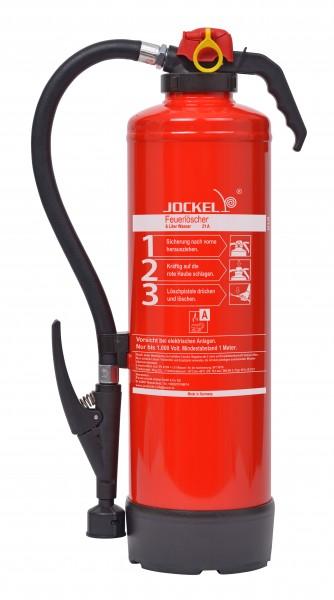 Jockel 6 Liter frostsicherer Auflade-Wasserfeuerlöscher W6JXF21