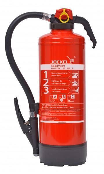Jockel Feuerlöscher 6 kg ABC-Auflade-Pulver Feuerlöscher P6JX 43